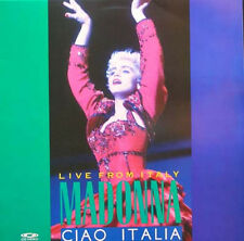 MADONNA - Ciao Italy Laser Disc