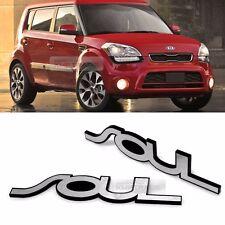 Side Front Trunk Rear Hairline Emblem Point Logo Badge for KIA 2008-2013 SOUL