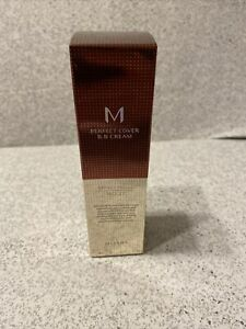 Missha M Perfect Cover BB Cream SPF 42 PA+++ No. 27  Honey Beige New In Box