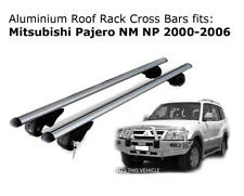 Aluminium Roof Rack Cross Bars fits Mitsubishi Pajero NM-NP 2000-2006 with rails
