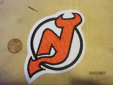 "New Jersey Devils 4 1/2"" Patch 1999/2000-Present Primary Logo HOckey"