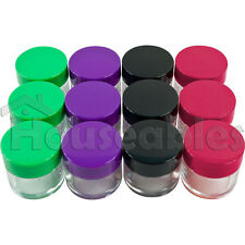 20G 20ML Cosmetic Sample Jars 12 Pack Twenty Gram Makeup Containers BPA Free