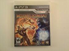 Mortal Kombat PS3 (Sony PlayStation 3, 2011)