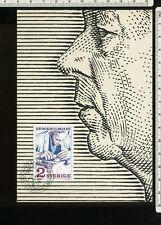 Sweden, maxim card #25        u2668