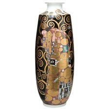 KLIMT by GOEBEL Vase Lebensbaum NEU/OVP Porzellan Bodenvase SW Gold limited edt