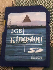 Kingston 2GB SD Card Secure Digital Memory Card. Trusted Reliable Brand