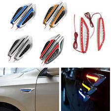 2X Universal Blade Car Steering Light Auto Led Turn Signal Fender Side Lights