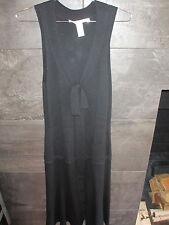 Diane Von Furstenberg  black wool blend sweater dress size S