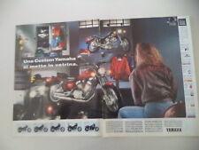 advertising Pubblicità 1993 MOTO YAMAHA XV 250 VIRAGO