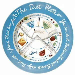 The Diet Plate® weight loss & portion control without fuss Advice included FREE!