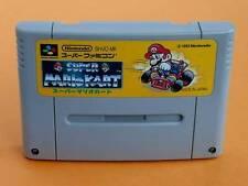 Super Famicom Super Mario Kart Japan SFC S