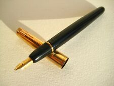 vintage Waterman Glass Cartridge fountain pen - 18K gold nib - France - 1940s.