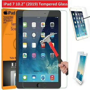 For Apple iPad 7th Gen (2019) A2197 Tempered Glass Screen Protector Genuine Hard