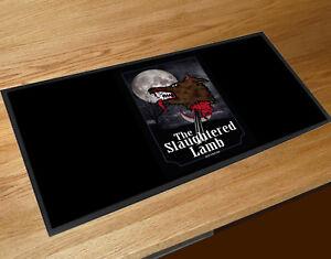 The Slaughtered Lamb pub bar runner
