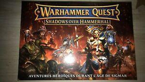 Warhammer Quest Shadow of Hammerhal Le jeux sans les figurines