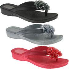 Sandalias y chanclas de mujer sin marca color principal plata