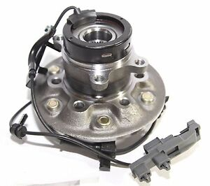 Front 6 LUG Driver Side Wheel Hub for 04-08 GMC Canyon 4WD/07-08 Isuzu i-370