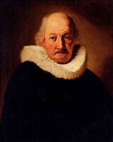Oil painting Rembrandt Netherlands Portrait Of An Old Man on canvas handpainted