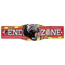 Atlanta Falcons 2013 Wincraft NFL 4x17 End Zone Sign FREE SHIP!!