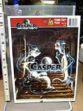 CASPER FRIENDY GHOST tray puzzle Ghostly Trio 1995 Fatso Stinky Stretch OG comic