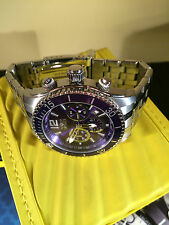 invicta Men's 14807 Specialty Chronograph Blue Dial Stainless Steel Watch
