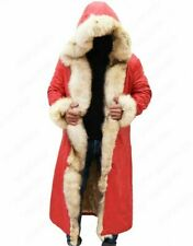 The Christmas Chronicles Kurt Russell Shearling Trench Coat- Free Shipping