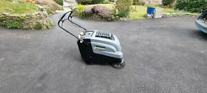 Karcher KM 75/40 (Petrol) Walk Behind Floor Sweeper with spare brushes