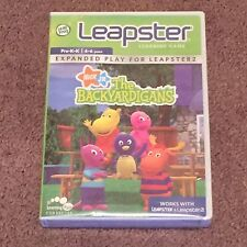 LeapFrog Leapster The Backyardigans (Video Games, Learning, Expanded Play) New