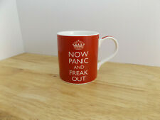 KENT POTTERY KEEP CALM AND NOW PANIC AND FREAK OUT