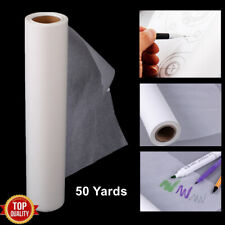 Tracing Paper Roll 46M Transparent Draft Draw Drawing Sketch Paper Roll White