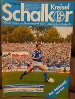 FC Schalke 04 Schalker Kreisel Magazin 24.08.1991 Bundesliga Derby Dortmund /580