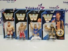 WWE RETRO SERIES 7 - Shawn Michaels, Sheamus, Kurt Angle & Chris Jericho Figures