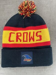 Adelaide Crows AFL Traditional Bar Beanie Hat
