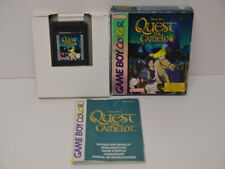 Spiel 52 - Gameboy Color GBC - Quest for Camelot + OVP + Anleitung