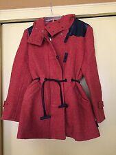 NEW Hunter Orange Women's Original Bonded Wool Coat, Size Small, NWOT $645