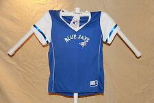 Toronto Blue Jays  MLB Fan Fashion JERSEY/Shirt  MAJESTIC  Womens Large  NWT $40
