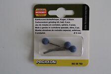 3 meules en corindon proxxon diam. 9mm 28 782