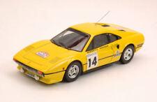 Ferrari 308 #14 Retired Tour De France 1985 T. Worswick / S. Newman 1:43 Model