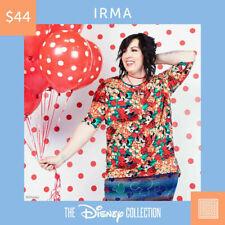 BNWT LuLaRoe Disney Irma Mystery Print XS S M L XL & 2XL All Available