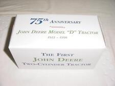 JOHN DEERE D 2 CYL Expo VIII 1998 MINT NIB ERTL 5995TA Spoker D 1923 1st JD 75th