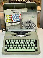 HERMES BABY - 1957 - portable typewriter Schreibmaschine vintage antik retro