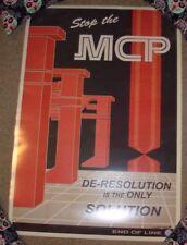 TRON Stop The MCP video game ART PRINT POSTER Steve Thomas