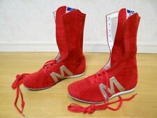 Very rare Mizuno vintage Boxing Shoes M-Line made in Japan 26.5cm Us 8 1/2, Uk 8