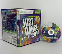 JUST DANCE 2014 (Microsoft Xbox 360, 2014) Tested Works Free Shipping