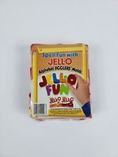 Jell-O Alphabet Jigglers Molds - New in Package!