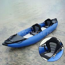 2PCS Deluxe SIT-ON-TOP Kayak Canoe Adjustable Seat w/Detachable Back Pack Raft