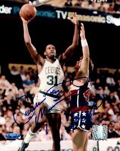 Cedric Cornbread Maxwell Signed Photo 8x10 Autographed Celtics TriStar