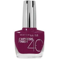 Gemey Maybelline Vernis A Ongles Express Finish 40 Secondes Prune Acidulee
