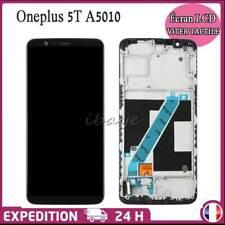 Écran LCD Display Vitre Tactile Pour OnePlus 5T A5010 Avec Cadre Noir Assemblé