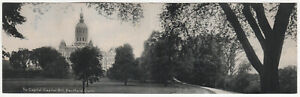 1907 HARTFORD CONNECTICUT State Capitol PANORAMIC PC Postcard DOUBLE Conn CT